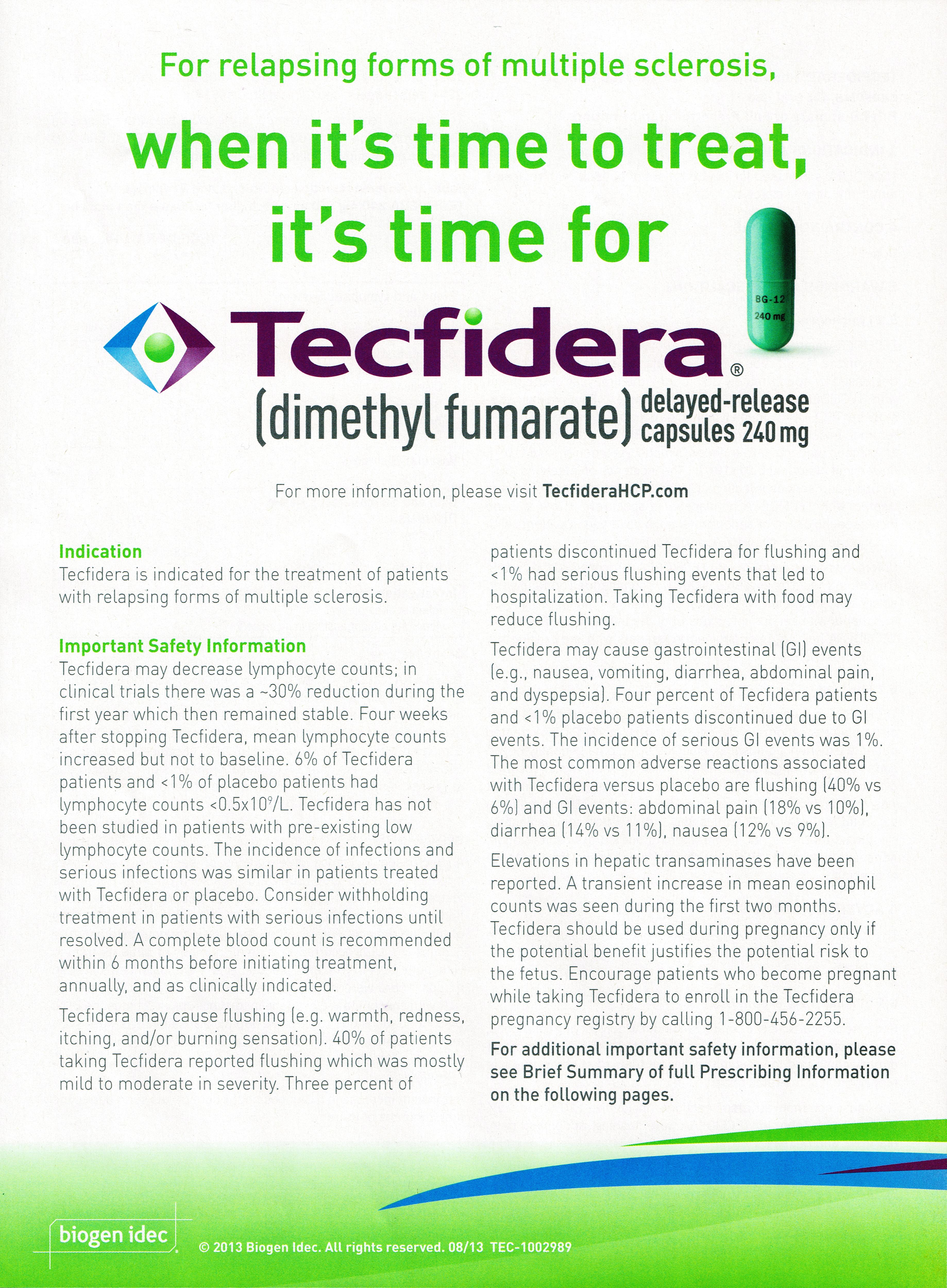 TECFIDERA | Concept Diagnosis